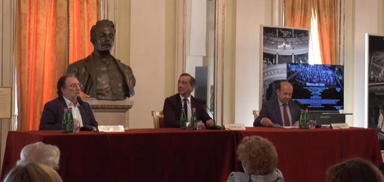 Conferenza Stampa Teatro alla Scala Presentazione stagione Autunno 2020