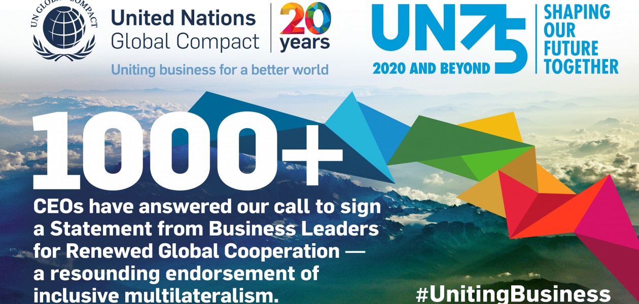 Italmobiliare sottoscrive lo Statement from Business Leaders for Renewed Global Cooperation delle Nazioni Unite